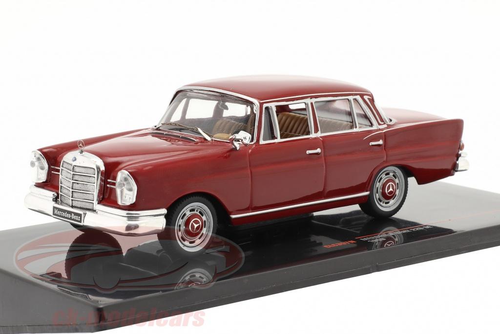 ixo-1-43-mercedes-benz-220-se-w111-anno-di-costruzione-1959-rosso-scuro-clc357n/