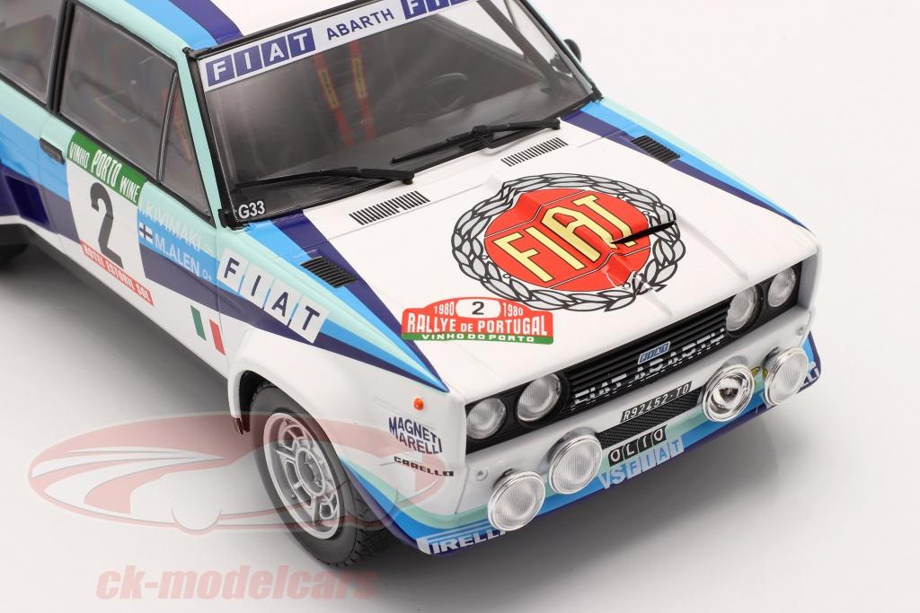 RPT1 voiture 1//43 IXO Rallye PORTUGAL FIAT 131 Abarth Alen//Kivimaki 1977