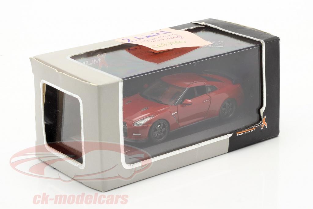 premium-x-1-43-nissan-gt-r-noir-edition-an-2014-rouge-2e-choix-ck67760-2-wahl/