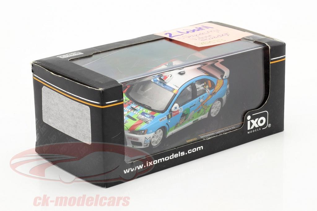 ixo-1-43-mitsubishi-lancer-evo-x-no0-ypres-rally-2013-d-hulster-klinget-2-keuze-ck67573-2-wahl/