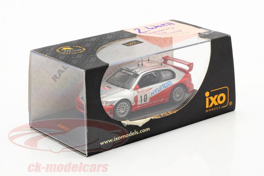 ixo-1-43-hyundai-accent-wrc-no10-rally-monte-carlo-2003-schwarz-hiemer-2-scelta-ck67947-2-wahl/