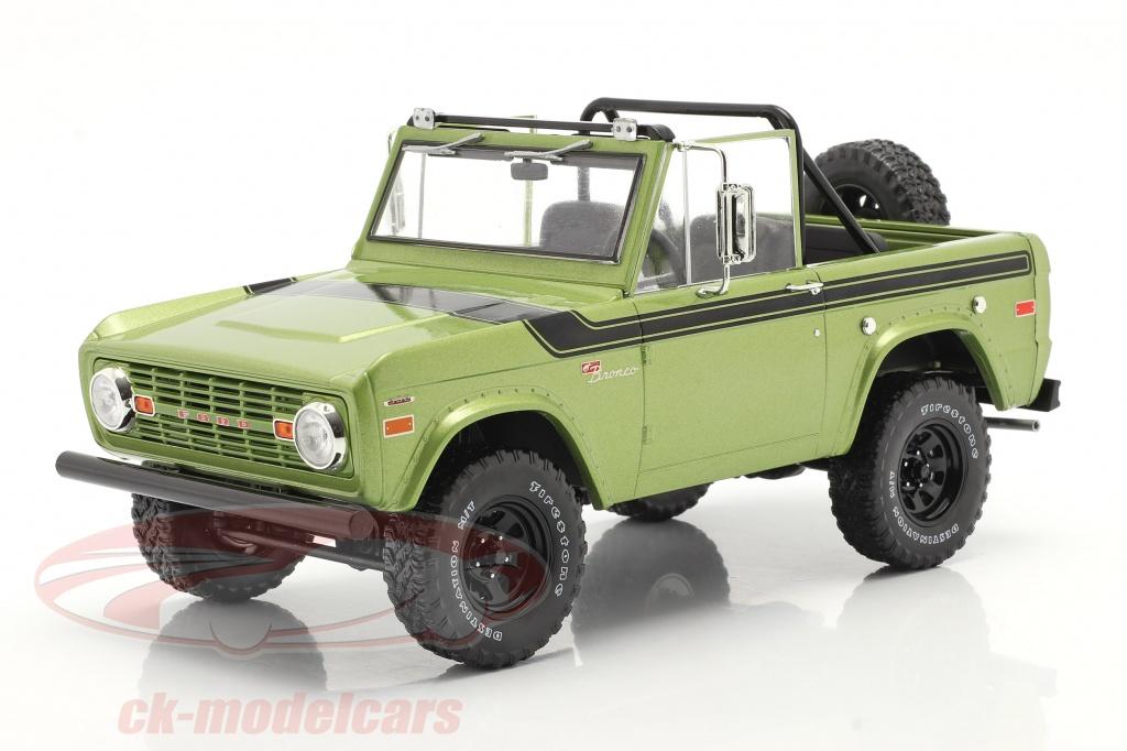 greenlight-1-18-ford-bronco-sport-annee-de-construction-1975-vert-19100/