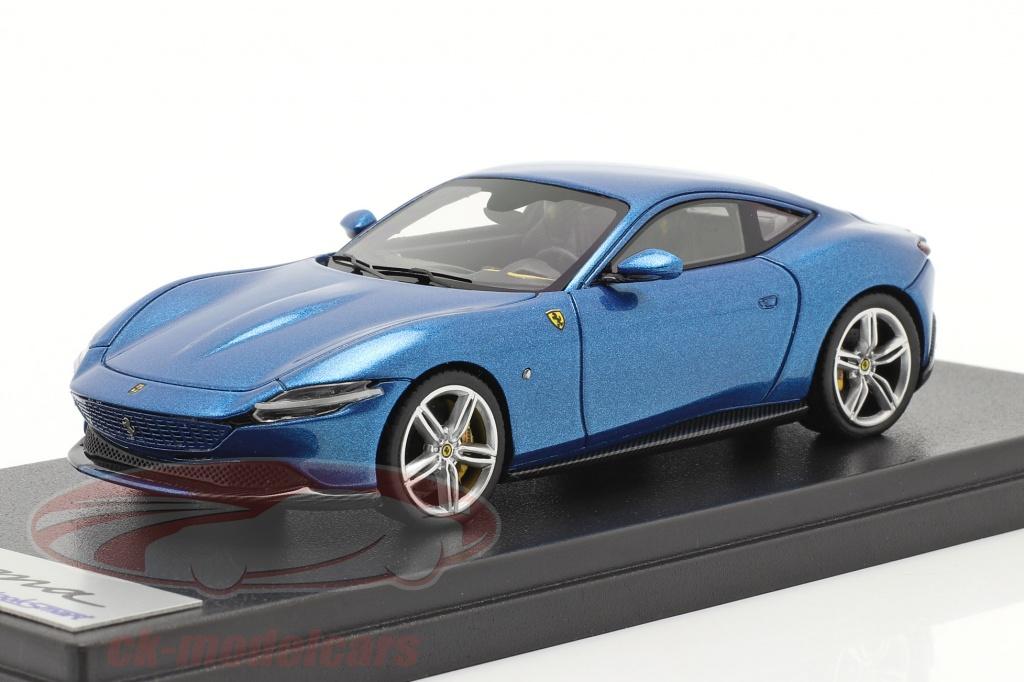 looksmart-1-43-ferrari-roma-bouwjaar-2020-corsa-blauw-ls508h/