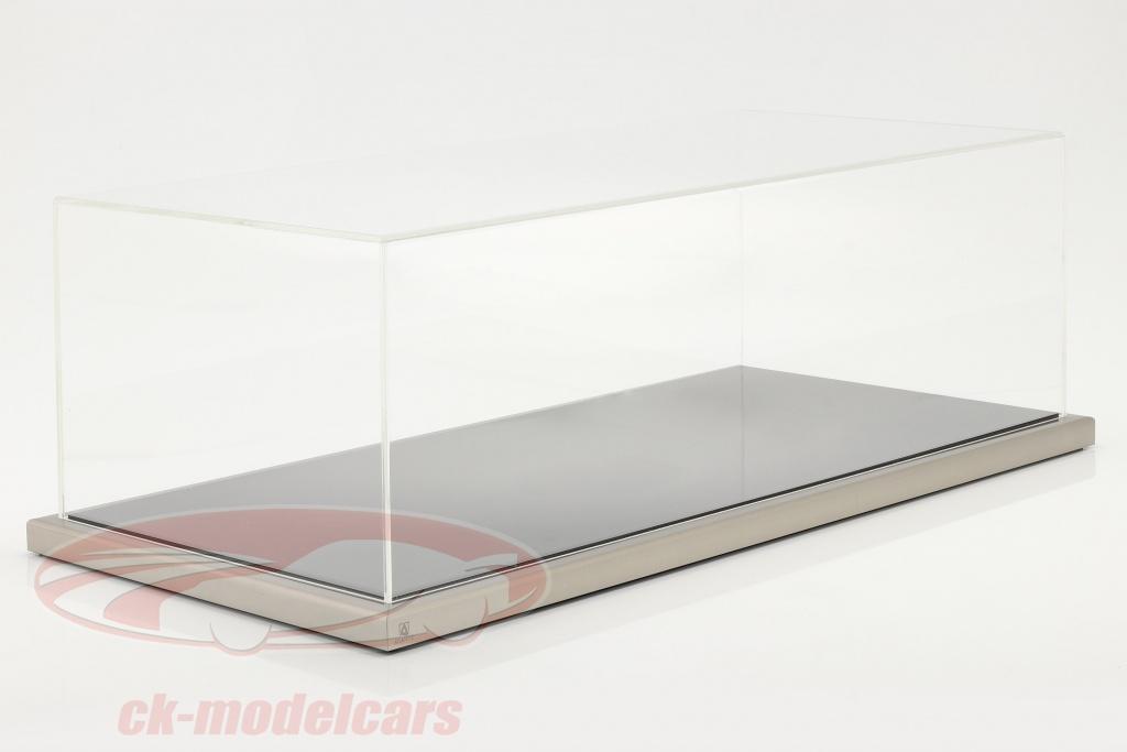 high-quality-acrylic-showcase-dieppe-with-acrylic-metal-base-black-silver-1-8-atlantic-10150/