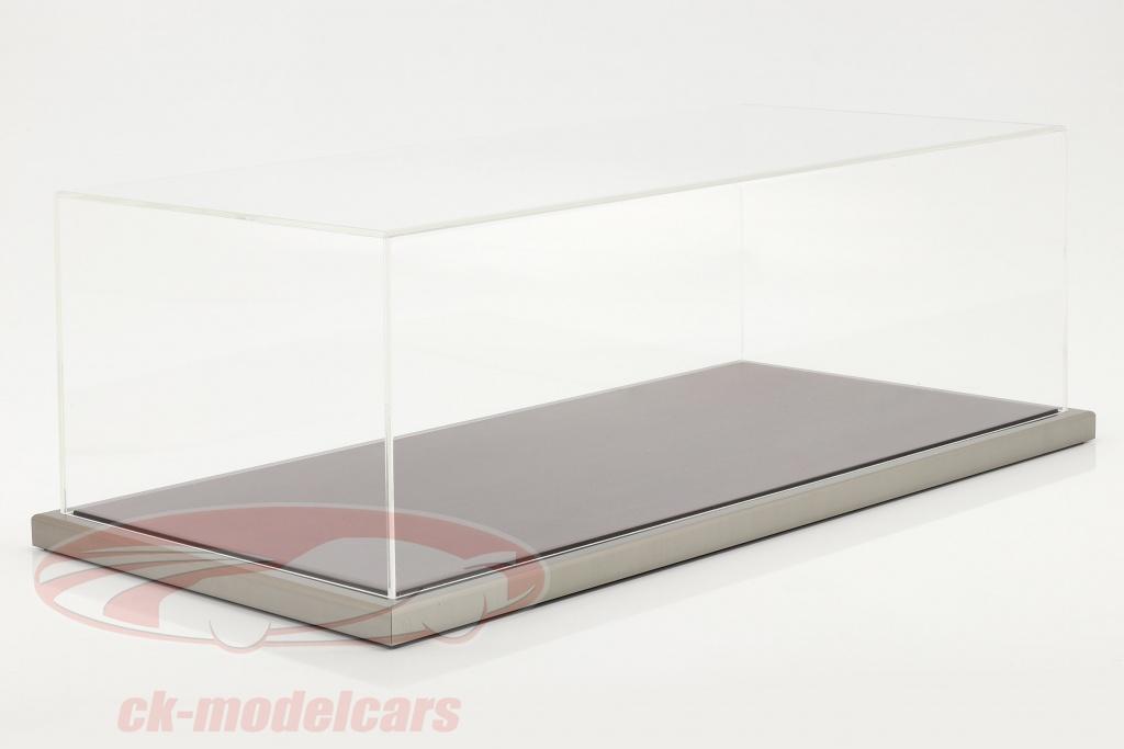 hochwertige-acryl-vitrine-goodwood-mit-holz-metallbasis-mahagoni-silber-1-8-atlantic-10160/