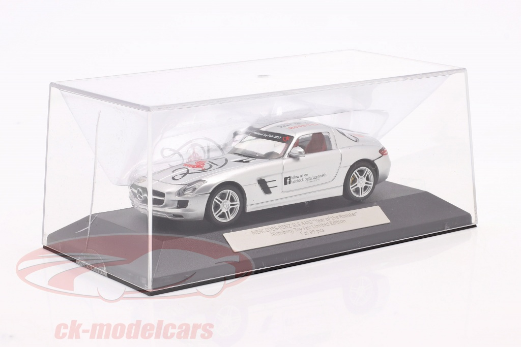 ixo-1-43-mercedes-benz-sls-amg-year-of-the-rooster-toyfair-nuernberg-2017-silber-2-wahl-ck68141-2-wahl/