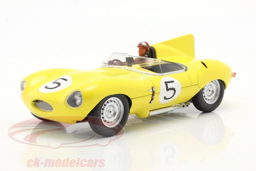cmr-1-18-set-jaguar-d-type-no5-4-plads-24h-lemans-1956-med-driverfigur-cmr143-ae180179/