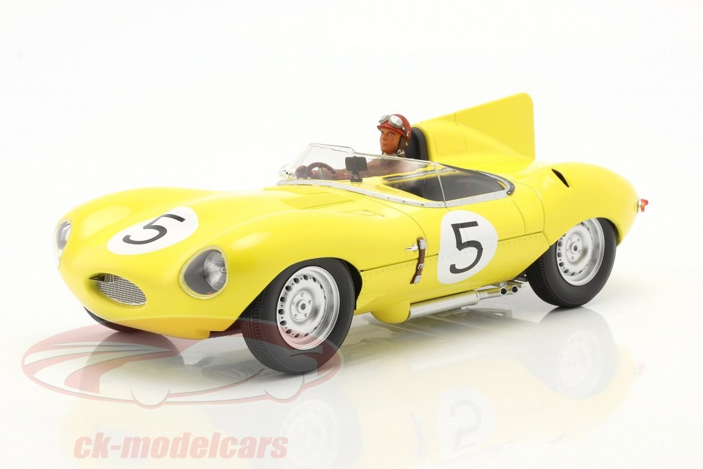 cmr-1-18-set-jaguar-d-type-no5-4e-24h-lemans-1956-avec-figure-de-pilote-cmr143-ae180179/