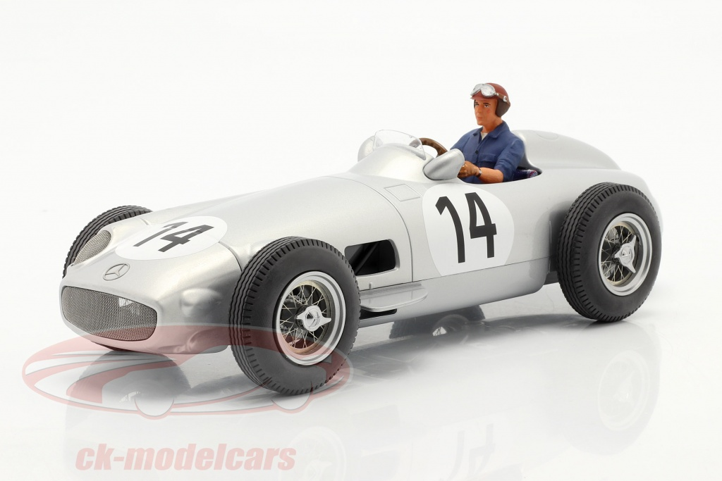 iscale-1-18-set-k-kling-mercedes-benz-w196-no14-formula-1-1955-with-driver-figure-blue-shirt-118000000014-ae180176/