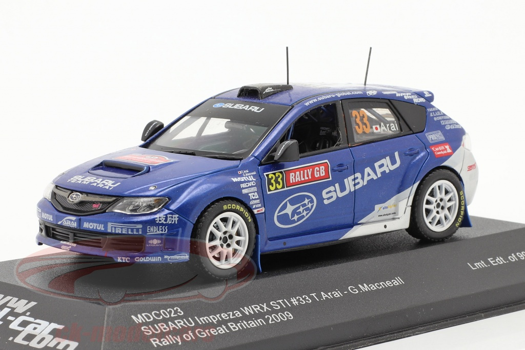 ixo-1-43-subaru-impreza-wrx-sti-no33-corrida-gra-bretanha-2009-arai-macneall-mdc023/