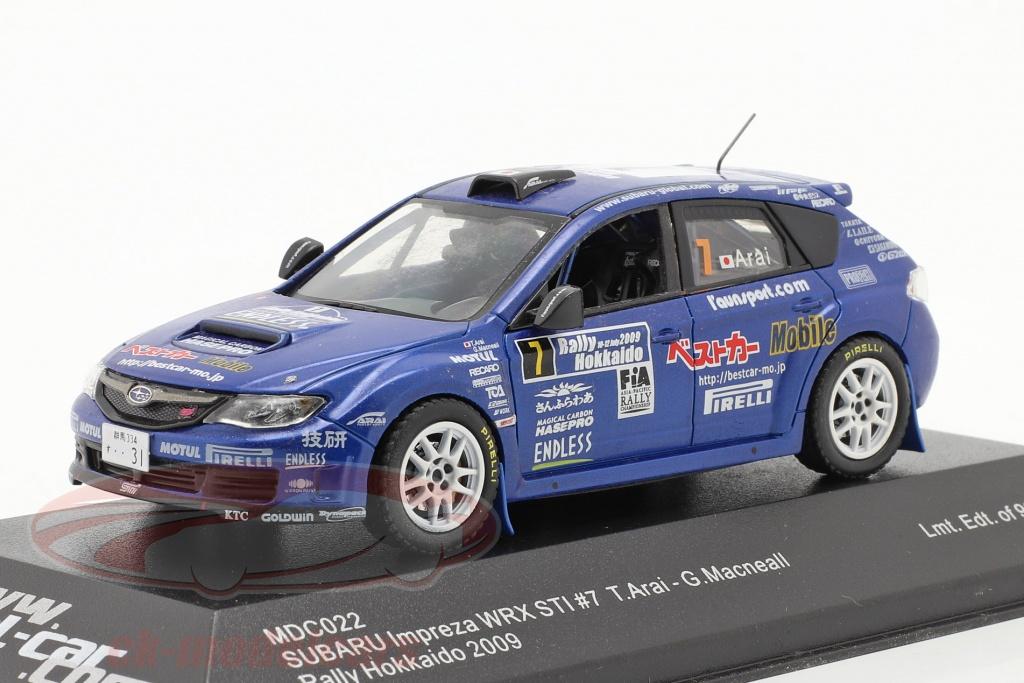 ixo-1-43-subaru-impreza-wrx-sti-no7-rallye-hokkaido-2009-arai-macneall-mdc022/