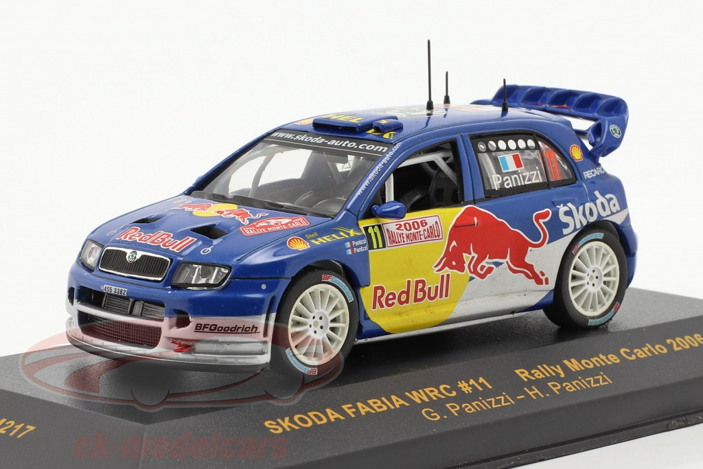 ixo-1-43-skoda-fabia-wrc-no11-rallye-monte-carlo-2006-panizzi-panizzi-ram217/
