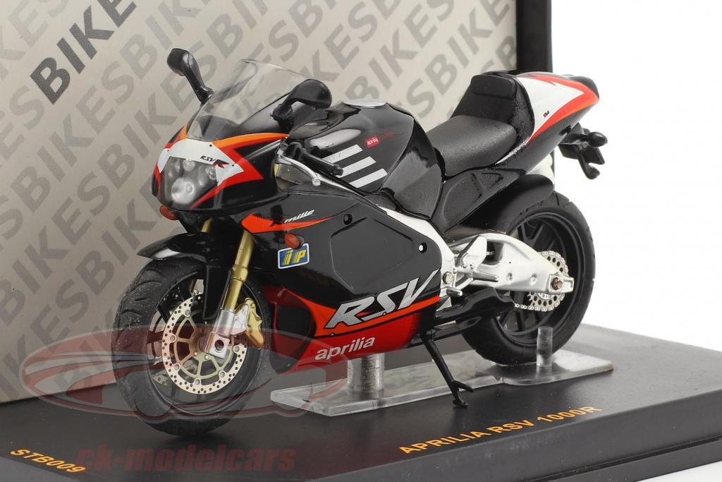 ixo-1-24-aprilia-rsv-1000r-zwart-rood-stb009/