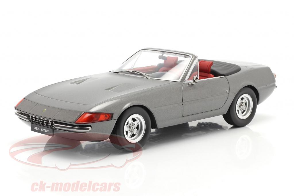 kk-scale-1-18-ferrari-365-gtb-4-daytona-convertible-series-2-1971-gris-metallique-kkdc180622/