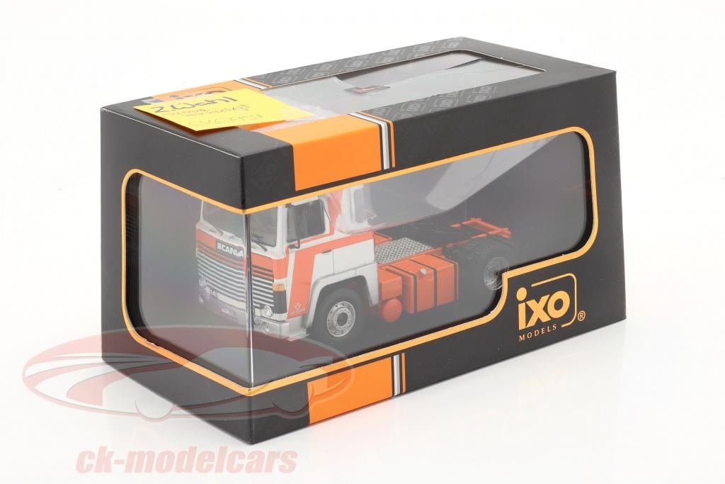 ixo-1-43-scania-lbt-141-tractor-eenheid-jaar-1976-oranje-wit-2e-keuze-ck67954-2-wahl/