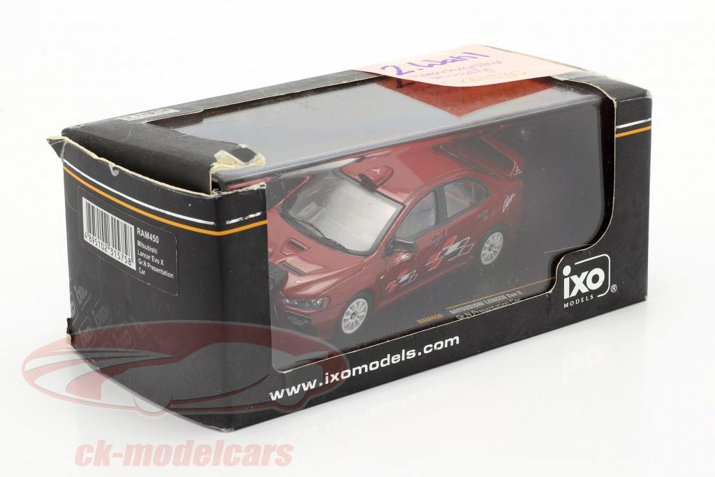 ixo-1-43-mitsubishi-lancer-evo-x-gr-n-presentation-car-2-choix-ck67530-2-wahl/
