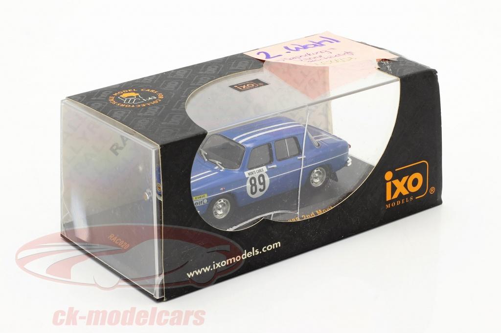 ixo-1-43-renault-8-gordini-no89-reunion-monte-carlo-1969-therier-callewaert-2-eleccion-ck68124-2-wahl/
