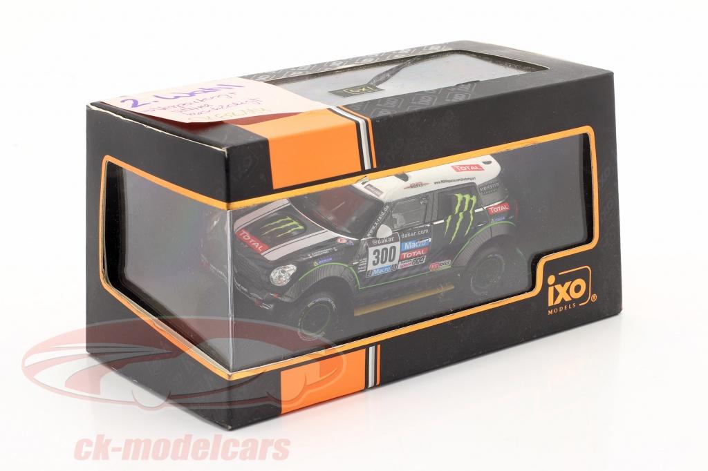 ixo-1-43-mini-all-4-racing-no300-2nd-rally-dakar-2014-peterhansel-cottret-2-scelta-ck68114-2-wahl/