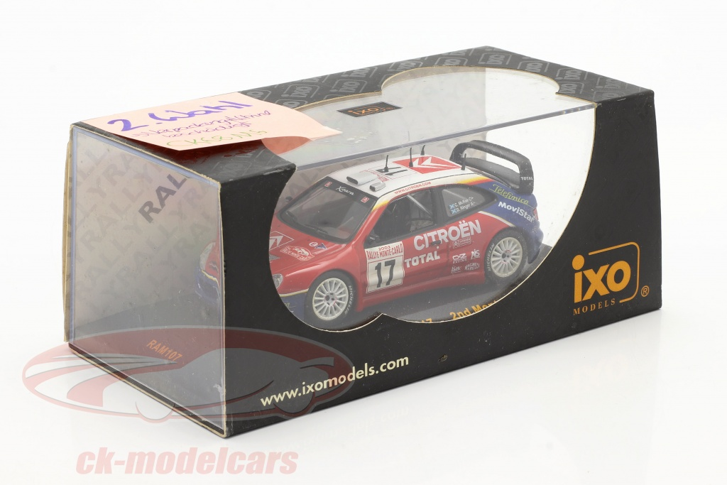 ixo-1-43-citroen-xsara-wrc-no17-rally-monte-carlo-2003-mcrae-ringer-2-keuze-ck68116-2-wahl/