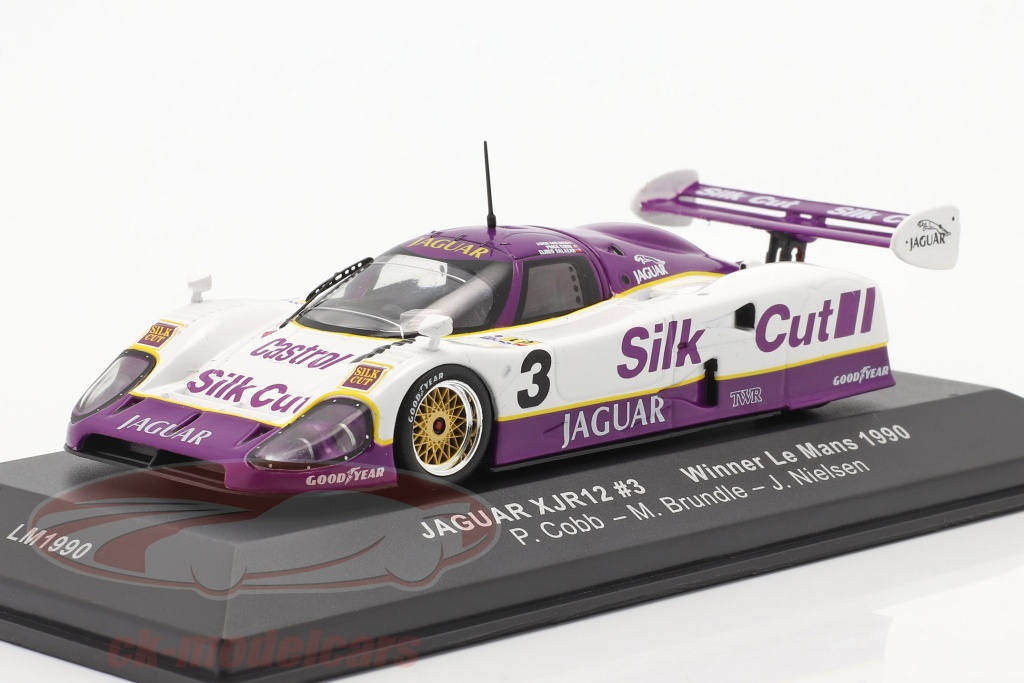 ixo-1-43-jaguar-xjr-12-no3-sieger-24h-lemans-1990-nielsen-cobb-brundle-lm1990/