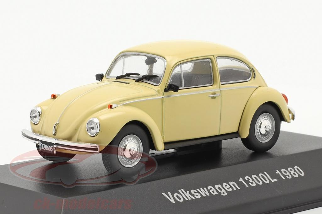 altaya-1-43-volkswagen-vw-scarabee-1300l-annee-de-construction-1980-jaune-clair-magarg28/
