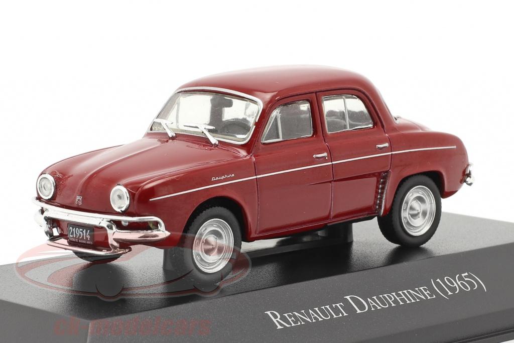 altaya-1-43-renault-dauphine-anno-di-costruzione-1965-buio-rosso-magarg15/