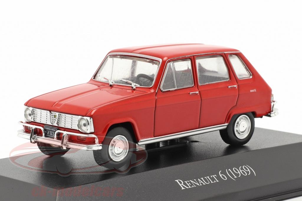 altaya-1-43-renault-6-annee-de-construction-1969-rouge-magarg27/