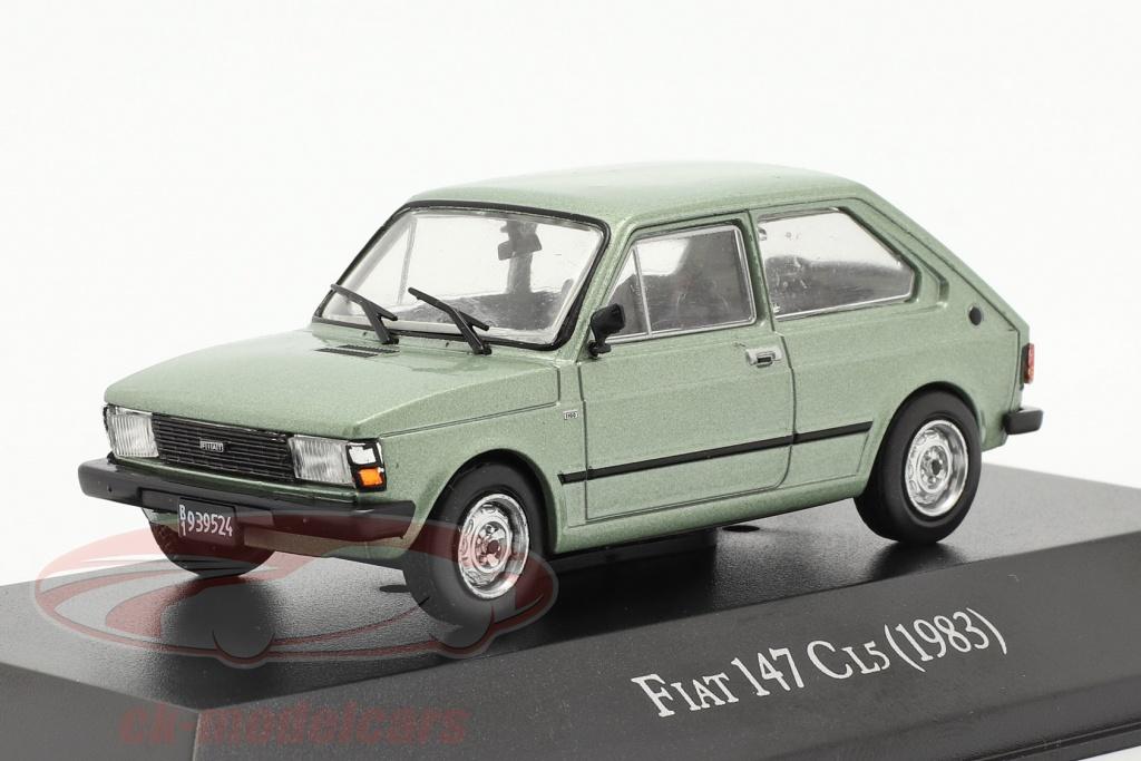 altaya-1-43-fiat-147-cl5-bouwjaar-1983-licht-groen-metalen-magarg29/