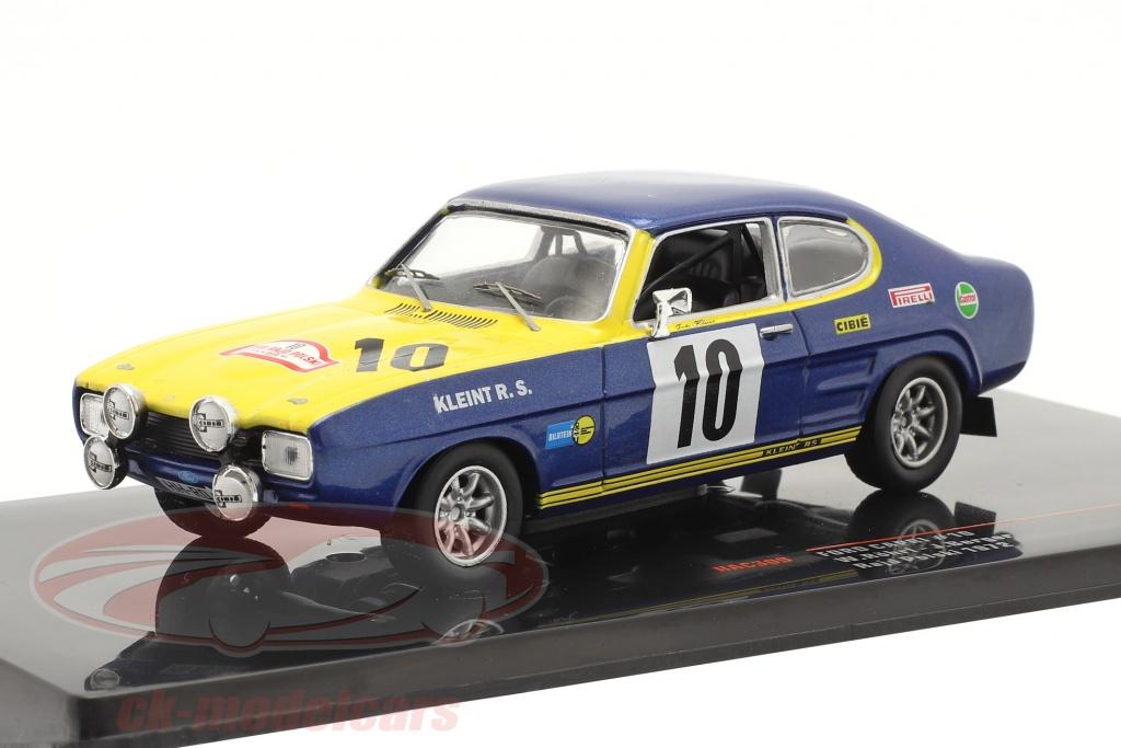 ixo-1-43-ford-capri-2600-no10-2-plads-rallye-rajd-polski-1972-roehrl-berger-rac309/