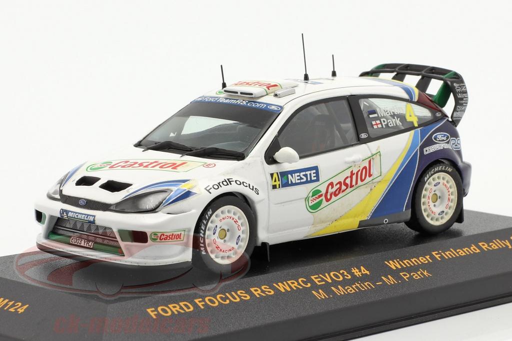 ixo-1-43-ford-focus-rs-wrc-evo3-no4-gagnant-finlande-se-rallier-2003-martin-park-ram124/