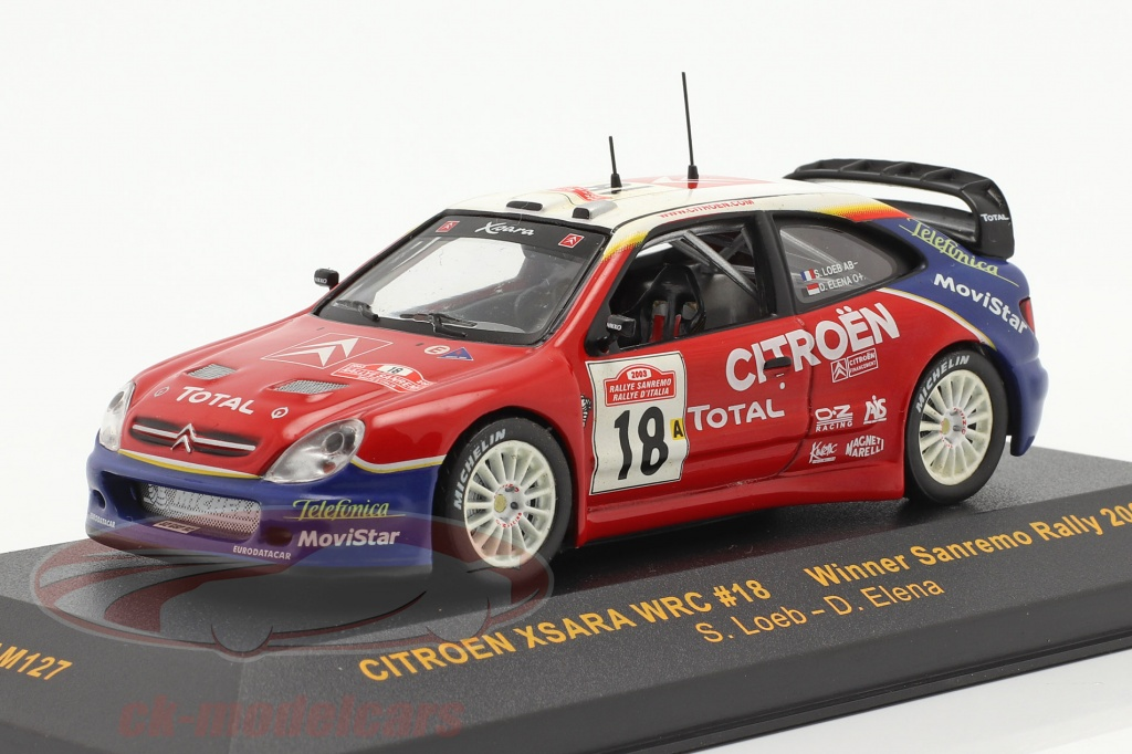 ixo-1-43-citroen-xsara-wrc-no18-vencedora-sanremo-corrida-2003-loeb-elena-ram127/