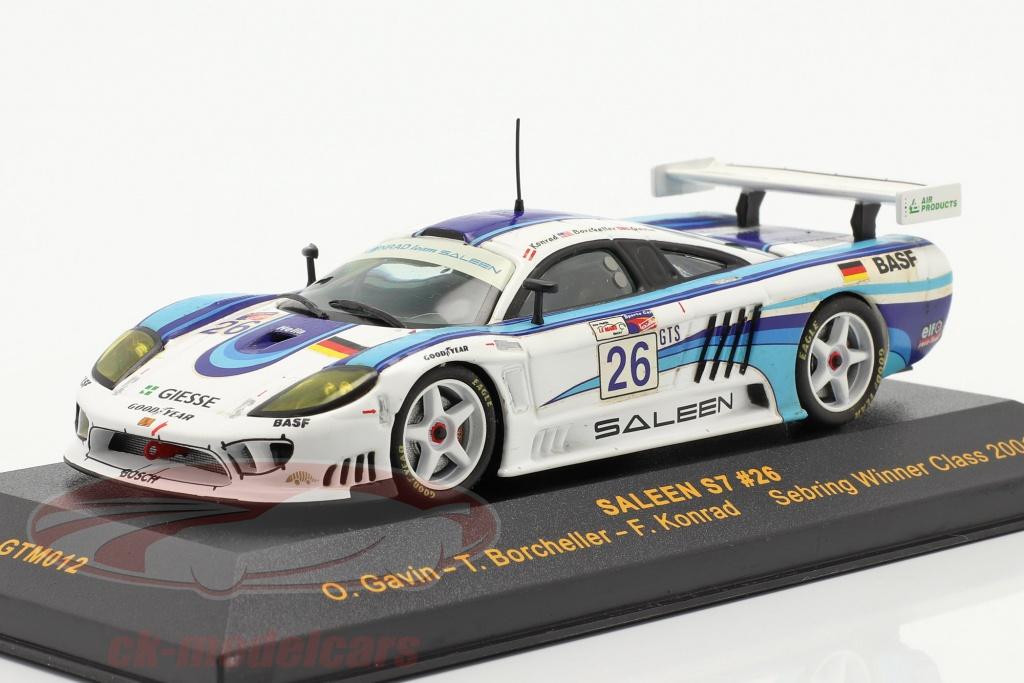 ixo-1-43-saleen-s7-no26-sebring-vencedora-class-2001-gavin-borcheller-konrad-gtm012/