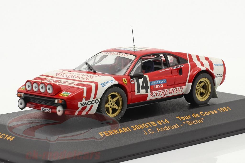ixo-1-43-ferrari-308gtb-no14-tour-de-corse-1981-andruet-rac144/