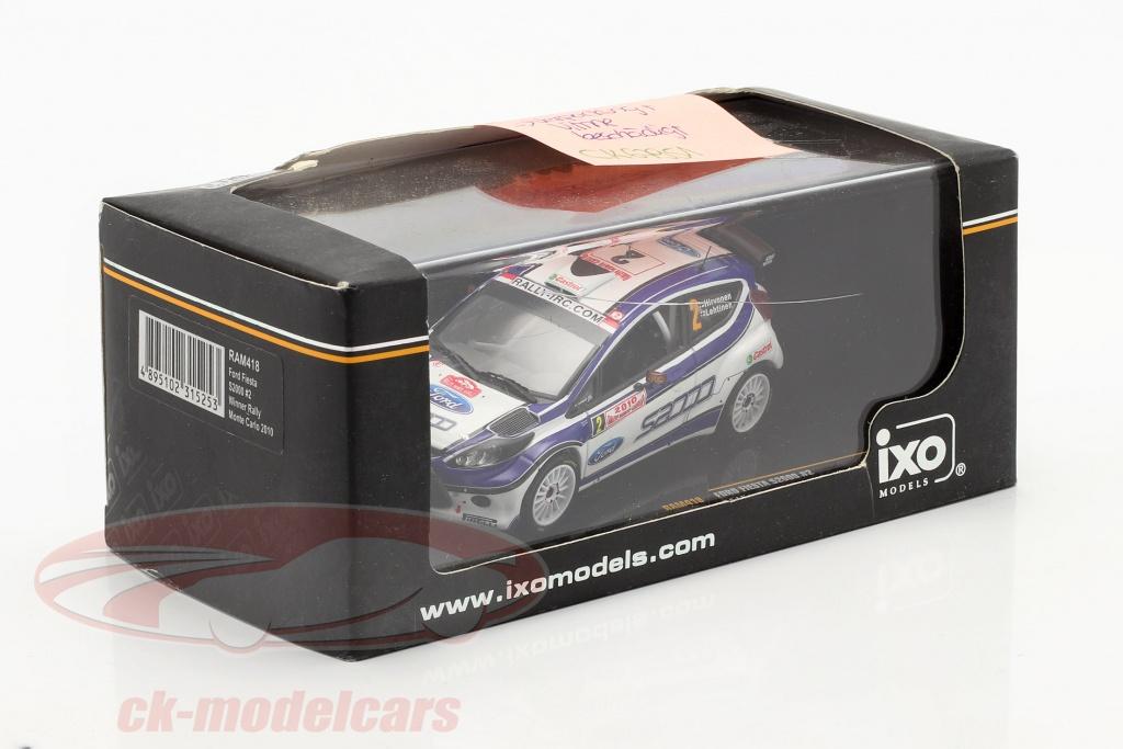 ixo-1-43-ford-fiesta-s2000-no2-hirvonen-lehtinen-rally-monte-carlo-2010-2-scelta-ck67951-2-wahl/