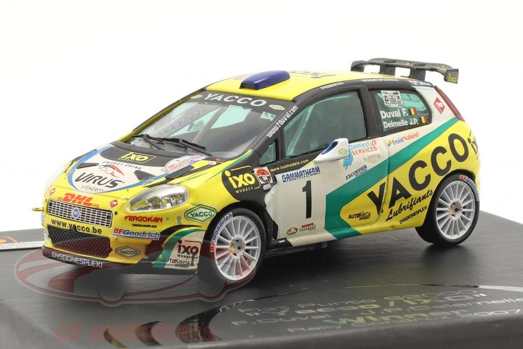 ixo-1-43-fiat-punto-s2000-no1-winnaar-rally-condroz-2007-duval-delemelle-ram284/