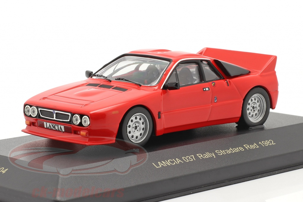 ixo-1-43-lancia-037-rally-stradare-jaar-1982-rood-kbi004/