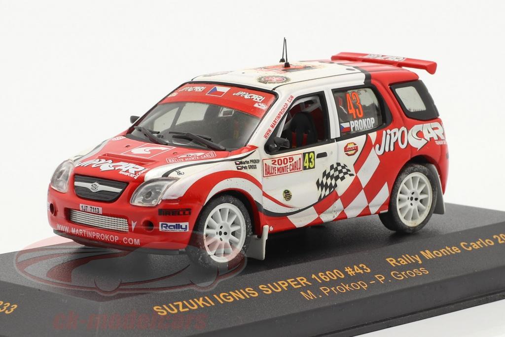 ixo-1-43-suzuki-ignis-super-1600-no43-rally-monte-carlo-2005-prokop-gross-ram233/