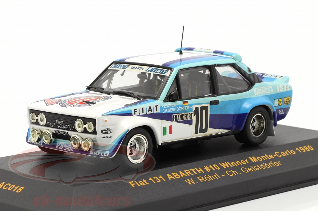 ixo-1-43-fiat-131-abarth-no10-sieger-rallye-monte-carlo-1980-roehrl-geistdoerfer-rac018/