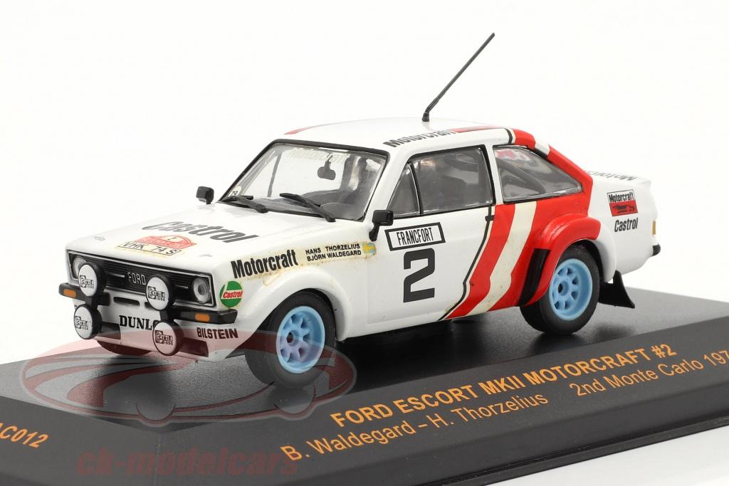 ixo-1-43-ford-escort-mkii-motorcraft-no2-rally-monte-carlo-1979-waldegard-thorzelius-rac012/