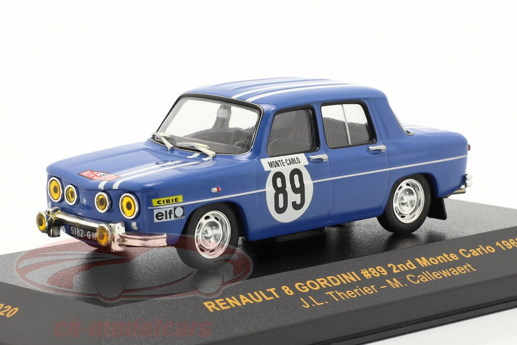 ixo-1-43-renault-8-gordini-no89-reunion-monte-carlo-1969-therier-callewaert-rac020/