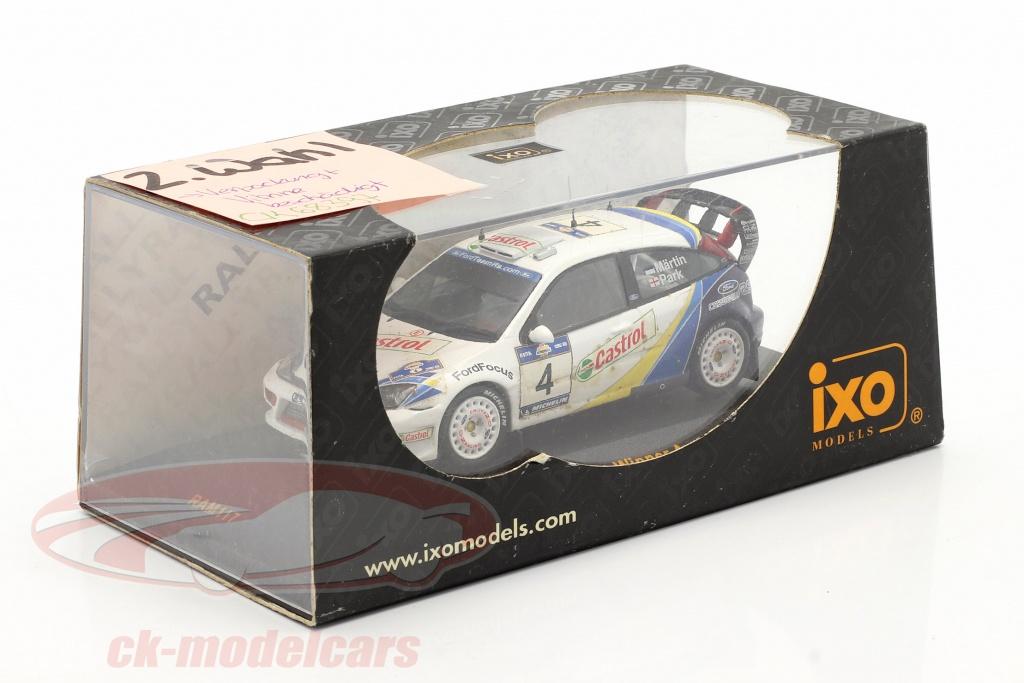 ixo-1-43-ford-focus-rs-wrc-evo3-no4-winnaar-acropolis-rally-2003-martin-park-2-keuze-ck68397-2-wahl/
