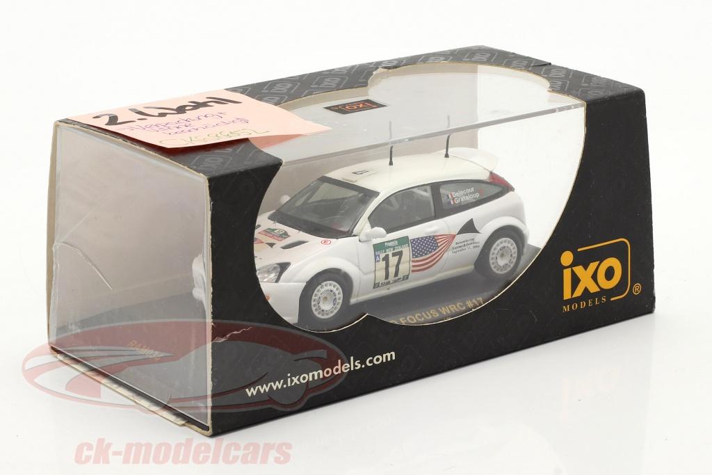 ixo-1-43-ford-focus-wrc-no17-corrida-nova-zelndia-2001-delecour-grataloup-2-escolha-ck68652-2-wahl/