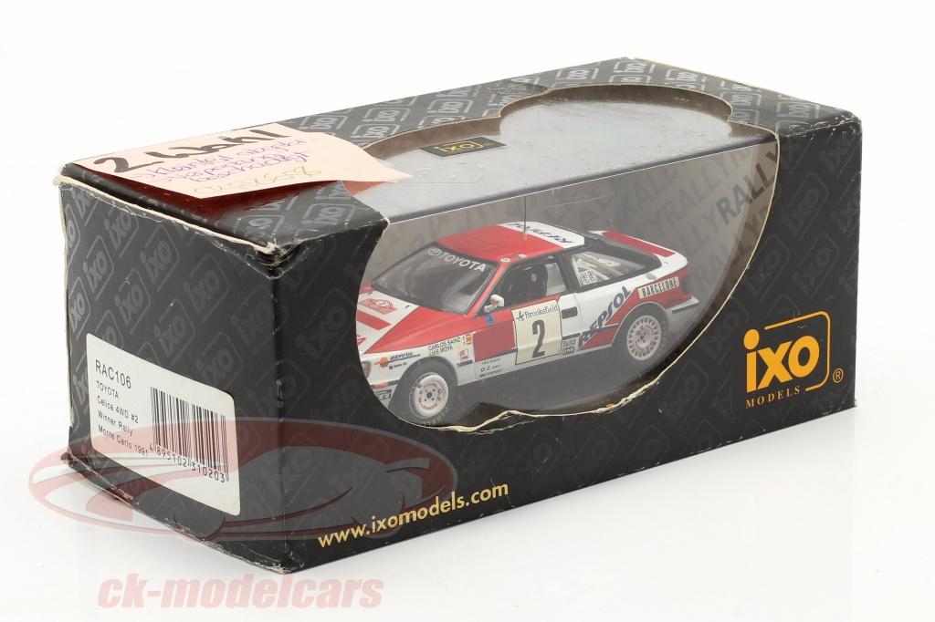 ixo-1-43-toyota-celica-4wd-no2-winner-rally-monte-carlo-1991-sainz-moya-2nd-choice-ck68658-2-wahl/