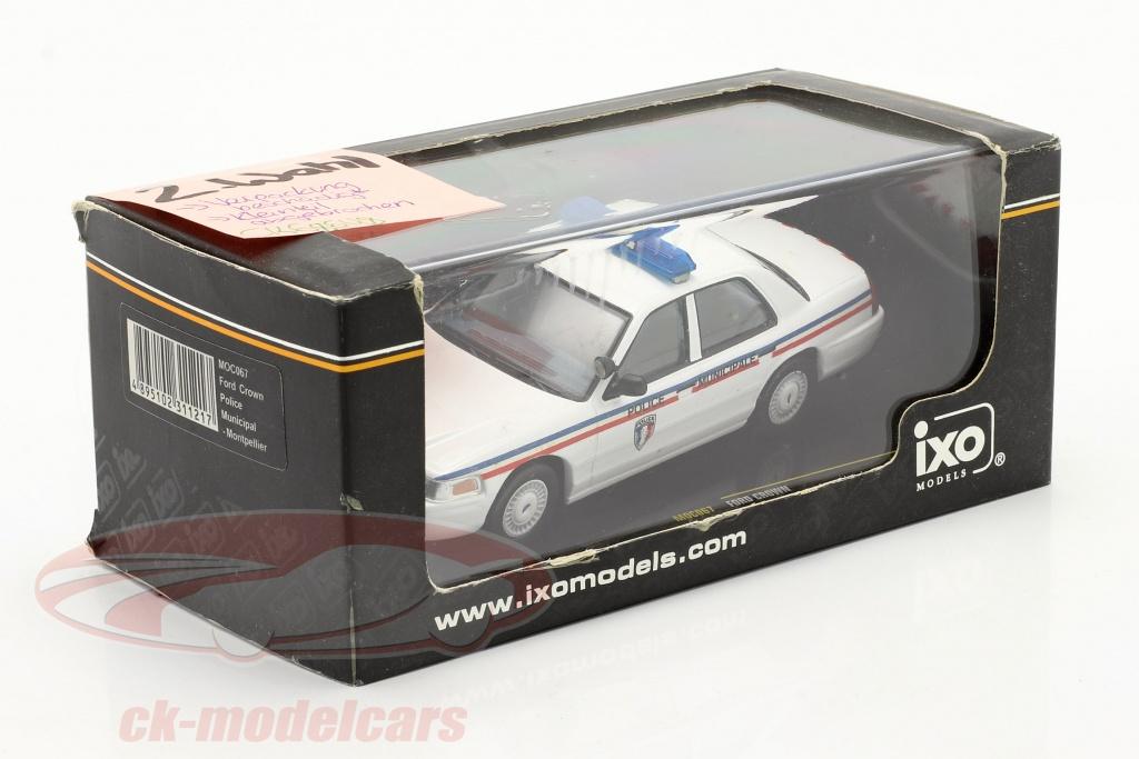 ixo-1-43-ford-crown-police-de-la-ville-de-montpellier-blanc-2-choix-ck68648-2-wahl/