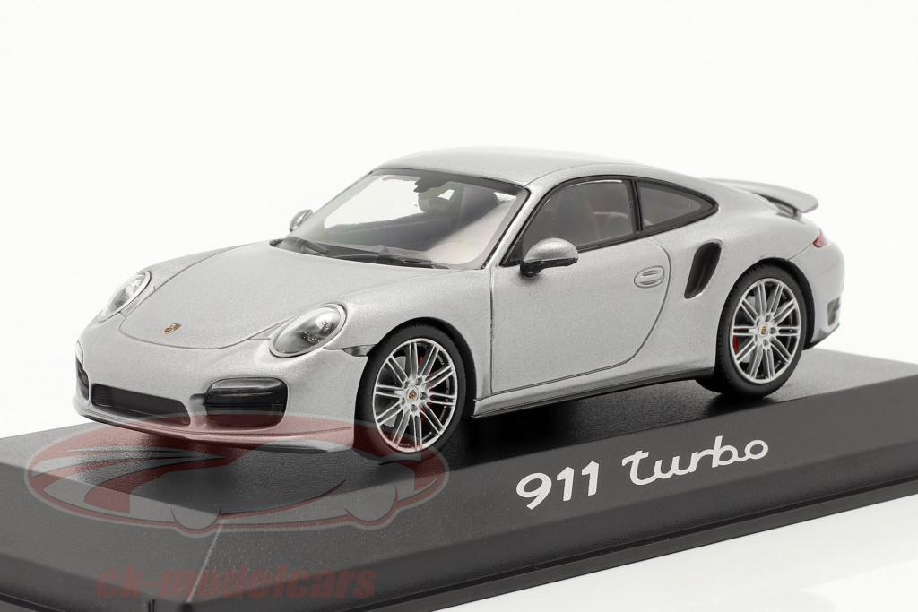 minichamps-1-43-porsche-911-991-turbo-r-2013-silver-wap0203660e/