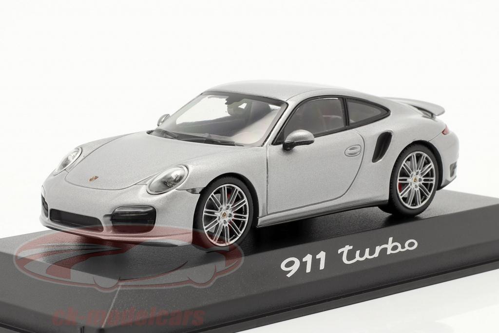 minichamps-1-43-porsche-911-991-turbo-year-2013-silver-wap0203660e/