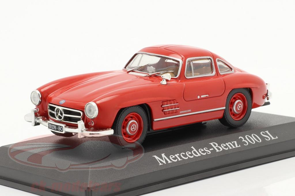 altaya-1-43-mercedes-benz-300-sl-ano-de-construcao-1954-vermelho-ck31178/