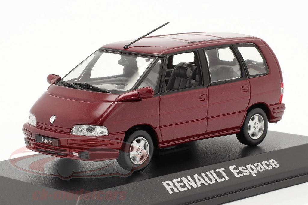norev-1-43-renault-espace-annee-1992-malaga-rouge-metallique-7711575953/