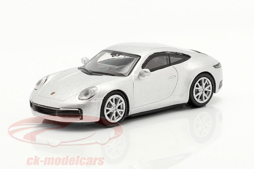 schuco-1-87-porsche-911-992-carrera-s-coupe-silber-metallic-452653600/