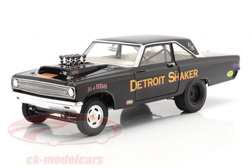 gmp-1-18-dodge-awb-detroit-shaker-drag-car-1965-negro-a1806505/